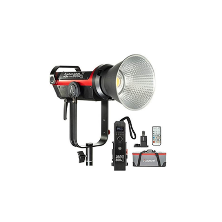 Picture of APUTURE COB 300D MARK II 300D II LED VIDEO LIGHT V-MOUNT CRI97+TLC197+55000LUX@0.5M 5500K SIDUS APPCONTROLL 8 BUIL-IN LIGHTING EFFECTS 2.4G 100M WIRELLES REMOTE CONTROL USB FIRMWARE UPGRADE